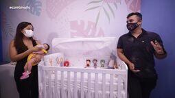 Menilson Filho visita as mamães da TV Sergipe