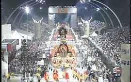 Gaviões da Fiel conquista o título do carnaval paulista em 2002