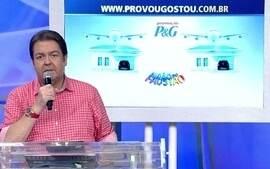 Avião do Faustão: ainda dá tempo de participar da promoção da P&G