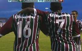 Os gols de Fluminense 7 x 0 Atltico-PR pela Copa Rio de Futebol Sub-17