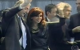 Casal Kirchner sofre denncias de corrupo na Argentina