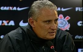 Tite comenta sobre atual momento do Corinthians, arbitragem e final com Santos