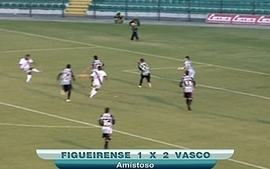 Vasco vence o Figueirense por dois a um em amistoso no Orlando Scarpelli