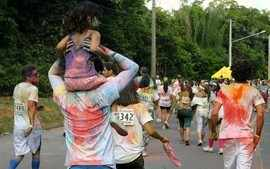 &#x27;The Color Run&#x27; rene 12 mil pessoas neste domingo, em Manaus