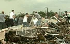Tornado devasta Oklahoma