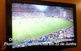 TV americana erra o nome do Fluminense ao noticiar amistoso contra o Orlando City