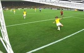 Sensacional! Após contra-ataque, Pedro chuta e David Luiz salva aos 40 do 1º tempo