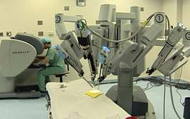 Cirurgia robótica é a evolução da cirurgia laparoscópica