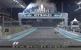 Rosberg vence o GP de Abu Dhabi com folga