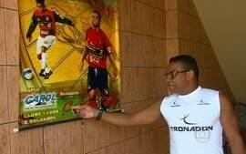 Carlinhos Bala, ex-rubro-negro, é atração especial no jogo contra Sport