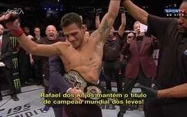 UFC divulga vídeo para promover luta de Rafael dos Anjos contra MCGregor