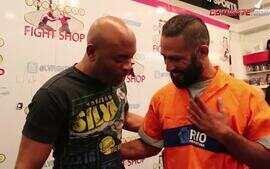 Gari do MMA realiza sonho de conhecer Anderson Silva e assistir um UFC em Las Vegas