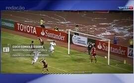 Redação AM: Coco Comas narra gol da classificação do Huracán