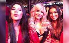 Meninas do UFC mandam mensagem para o Combate