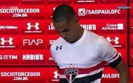 São Paulo apresenta Ítalo para o Campeonato Brasileiro