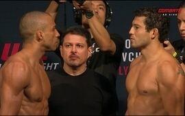 Edson Barboza e Gilbert Melendez passam pela pesagem do UFC: Holm x Shevchenko