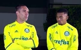 Fernando Prass e Gabriel Jesus vivem momentos diferentes no Palmeiras