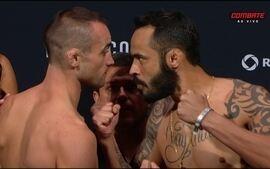 Campbell x Silva - Pesagem encarada UFC Vancouver