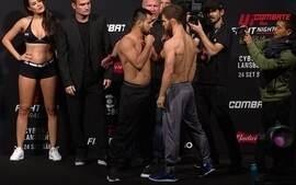 Jussier Formiga e Dustin Ortiz passam pela pesagem do UFC: Brasília