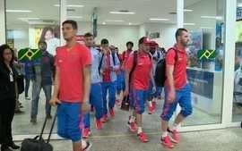 Flamengo desembarca em Vitória para enfrentar o Palestino pela Copa Sul-Americana
