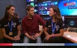 Bárbara e Fernanda falam sobre ouro conquistado na etapa da China de vôlei de praia