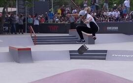 Veja a participação de Pâmela Rosa no Mundial de Street Skate Feminino