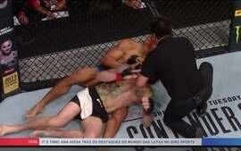 Atitude de árbitro brasileiro gera polêmica no UFC