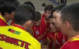 Estudantes de Caiçaras-PB ganham apoio de time adversário e disputam os Jogos Escolares