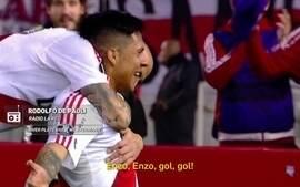 """""""Redação AM"""": veja narração argentina na goleada do River Plate sobre o Jorge Wilstermann"""