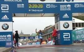 Maratona de Berlim é dominada durante e depois da prova pelos quenianos