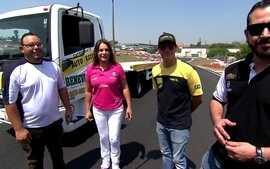 Pilotos da Copa Truck participam de desafio do Giro SporTV