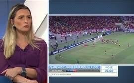 Jornalista questiona por que Vinicius Junior não é titular no Flamengo