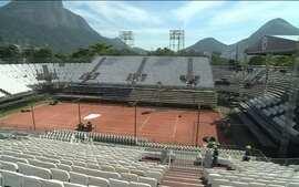 Rio Open está na fase final de montagem para receber tenistas mundiais