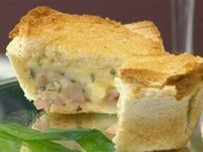 Sanduíche Diferente - Foto de Mais Você na TV
