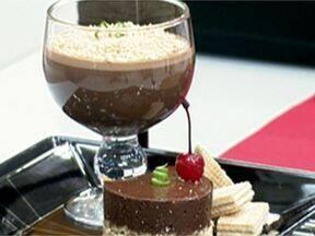 Mousse de Chocolate - Foto de Mais Você na TV