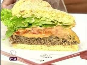 Hamburgão com Batatas Fritas - Foto de Mais Você na TV