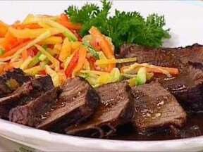 Carne Com Vinho Tinto - Foto de Mais Você na TV