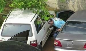 Bandidos levam tudo de carros em plena luz do dia em cidade no DF