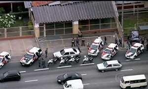 Perseguição na Marginal Tietê, em São Paulo, termina com um detido