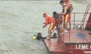Corpo encontrado em rio no PA pode ser de menino desaparecido em naufrágio