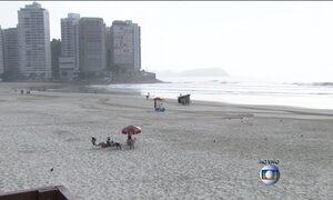 Aumento de turistas causa preocupação quanto ao abastecimento de água no litoral de SP