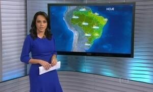 Veja a previsão do tempo para o fim de semana em todo o Brasil