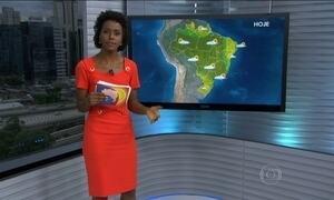 Previsão é de chuva para várias partes do Brasil
