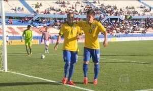 Seleção Brasileira sub-20 derrota Paraguai