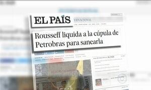 Saída de Graça Foster da Petrobras ganha repercussão internacional
