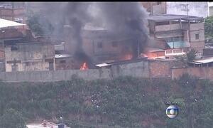 Polícia faz operação em favela no subúrbio do Rio