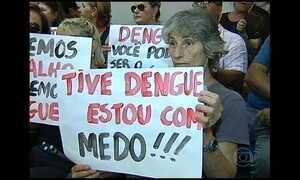 Cresce o número de casos de dengue apesar da seca no país
