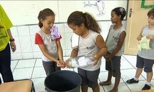 Uso racional da água vira tema nas salas de aula de Belo Horizonte