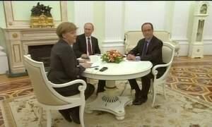 Líderes europeus se esforçam para salvar o plano de paz para Ucrânia