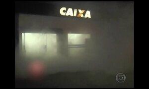 Dispositivo solta fumaça e dificulta ação de bandidos em caixas